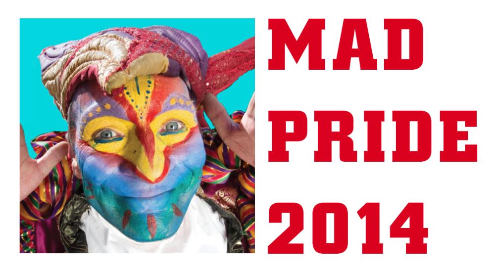 Logo officiel de la Mad Pride française 2014