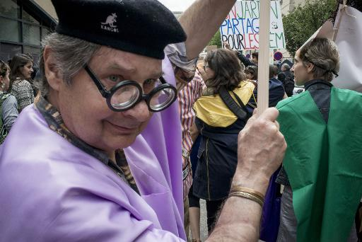 Manifestants à la Mad Pride du samedi 14 juin — Photo AFP
