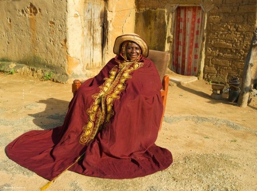 Sa Majesté la Reine Hajiya Hadizatu Ahmedu Magajiya de Knubwada