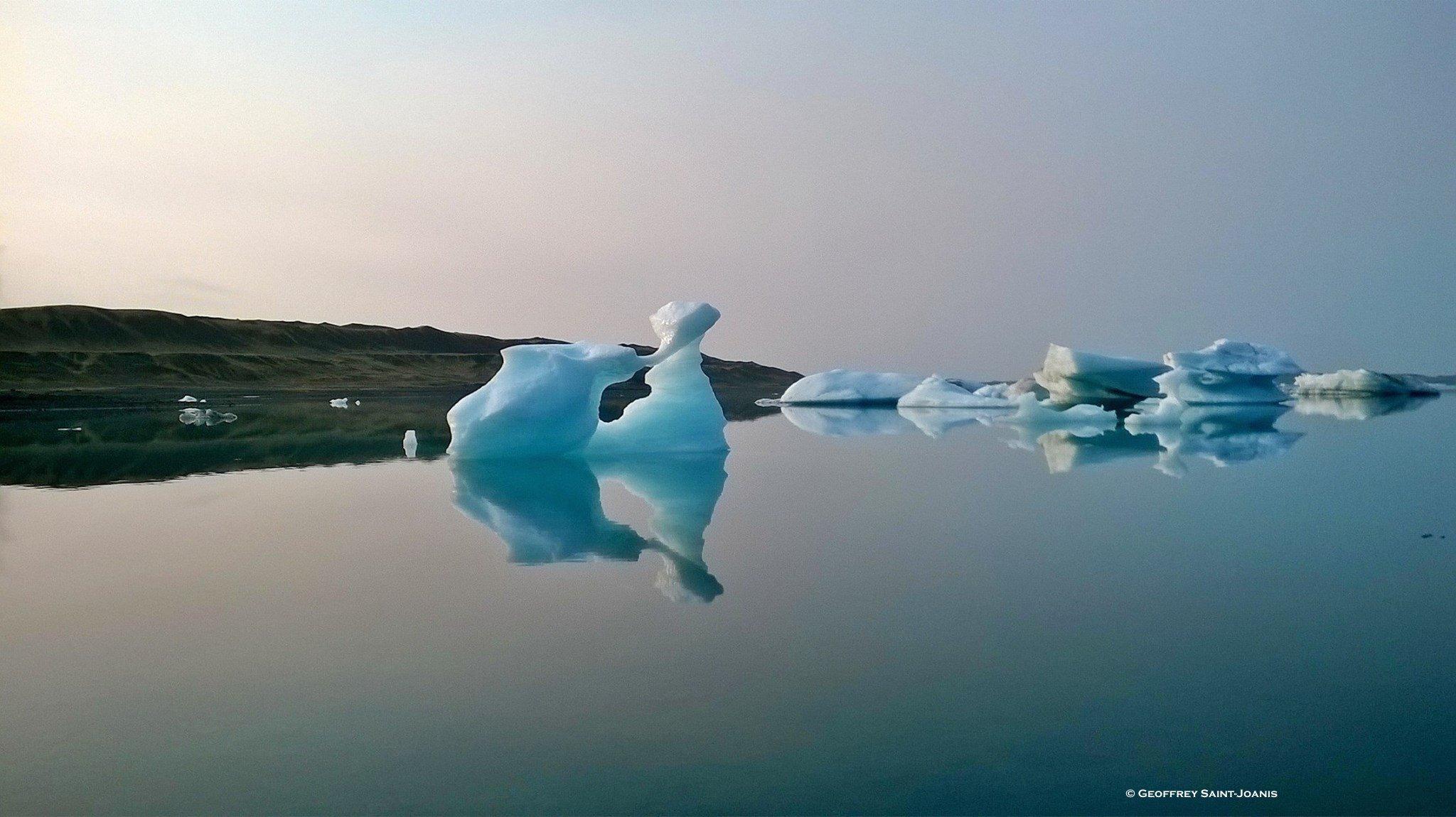 A vendre : Jökulsárlón, la lagune d'icebergs islandaise