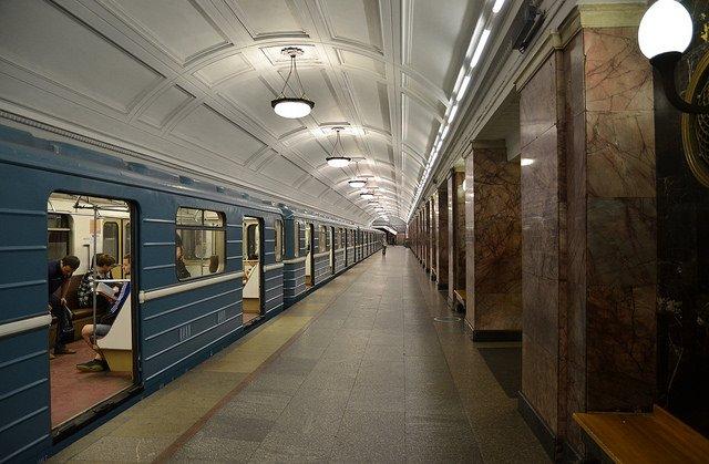 Métro de Moscou © Flickr