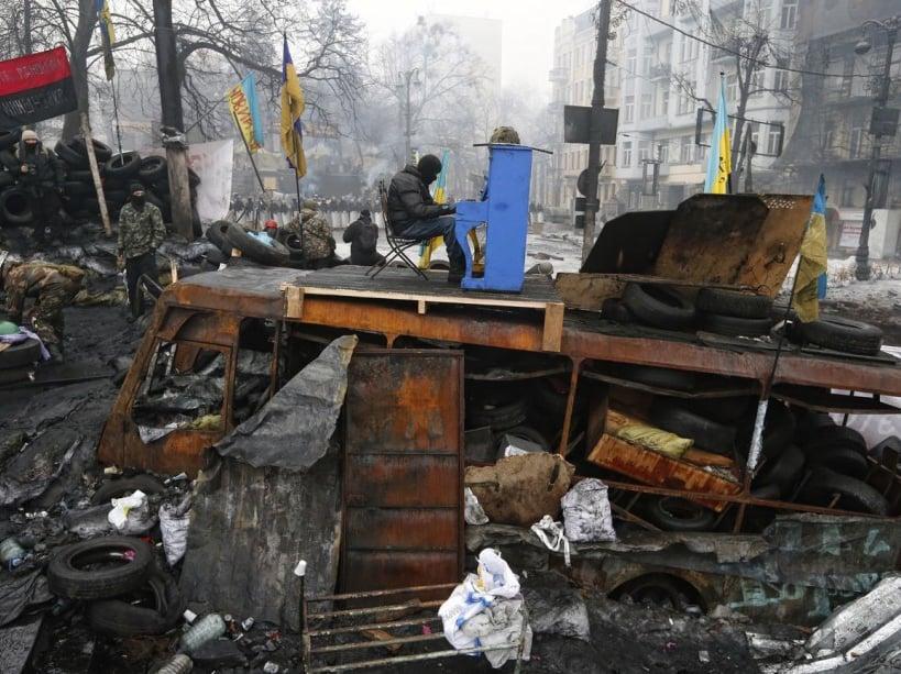 Ukraine.Kiev. Euromaidan