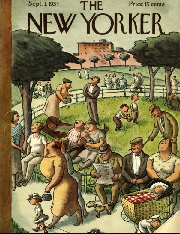 1934 - vie normale
