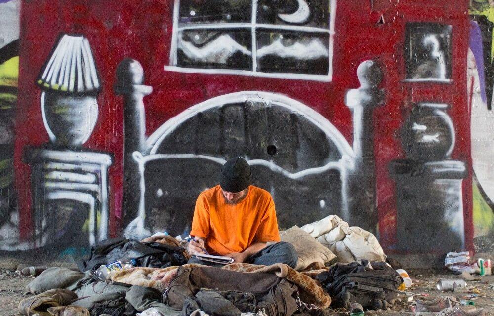 Skid Robot Project : utiliser le street-art pour faire valoir la cause des sans-abris