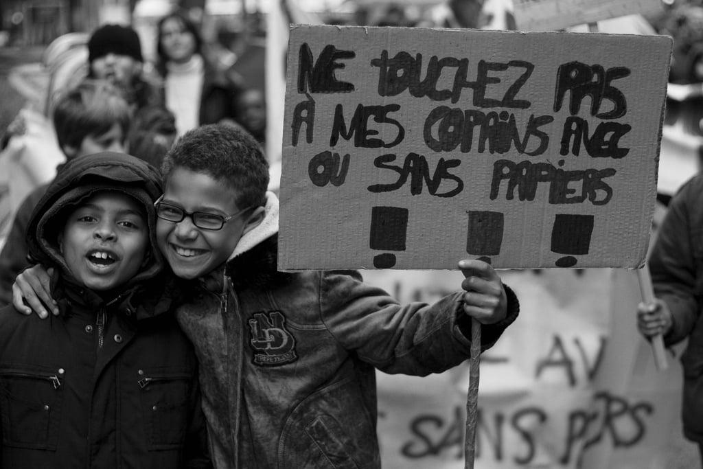 Manifestation pour les sans papiers - 31 mars 2007 - © Flickr