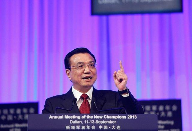 Li Keqiang, premier ministre chinois. World Economic Forum – © Flickr