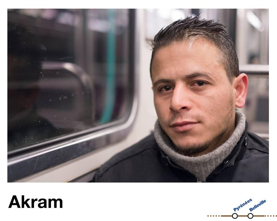 Akram © Premiers Métros - Julien Bottriaux