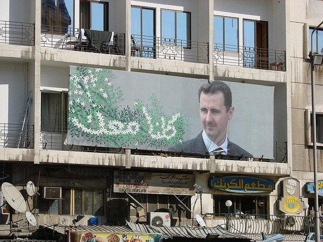 Propagande pro Bachar al-Assad - © Flickr