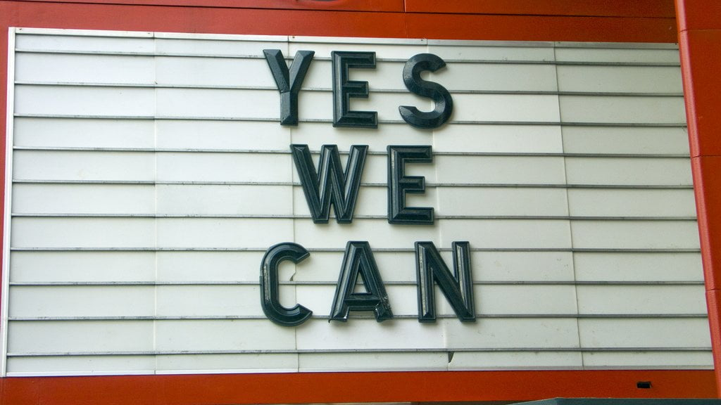 Affichage Yes we can -- Tim Letscher © Flickr