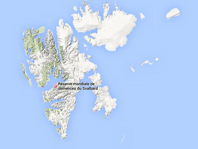 D'une superficie de 60 000 Km2, la population de l'archipel du Svalbard (Norvège) n'est que de 2 114  personnes.