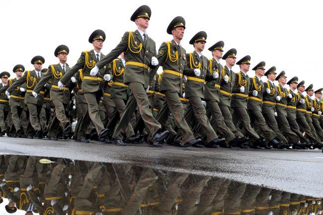 Une parade militaire en Biélorussie - © Flickr