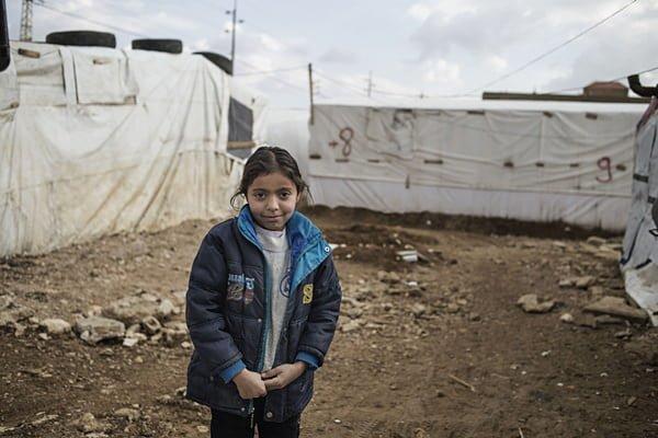 Amira, 7 ans, réfugiée syrienne - © Unicef