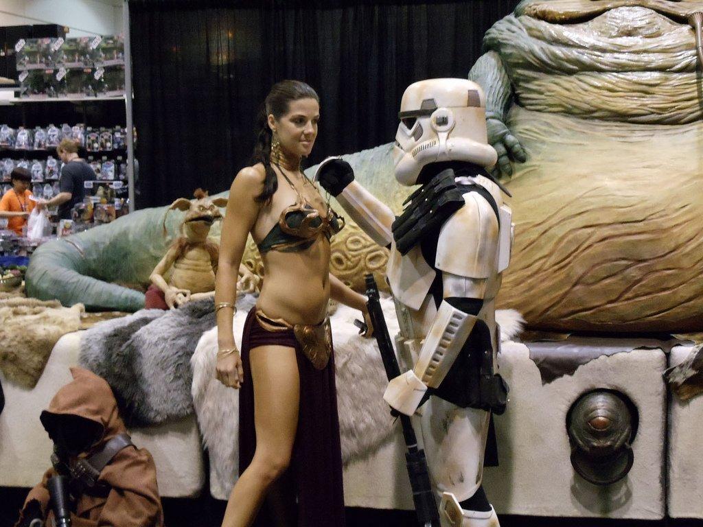 Le coup du stormtrooper, c'est vrai que ça marche pas mal - Photo © Doug Kline - Flickr