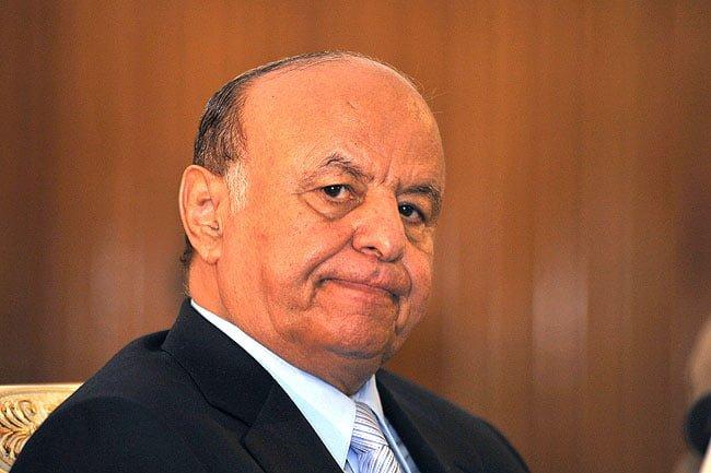 L'ex-Chef de l'État du Yémen : Abd Rabbuh Mansur Hadi - © AFP