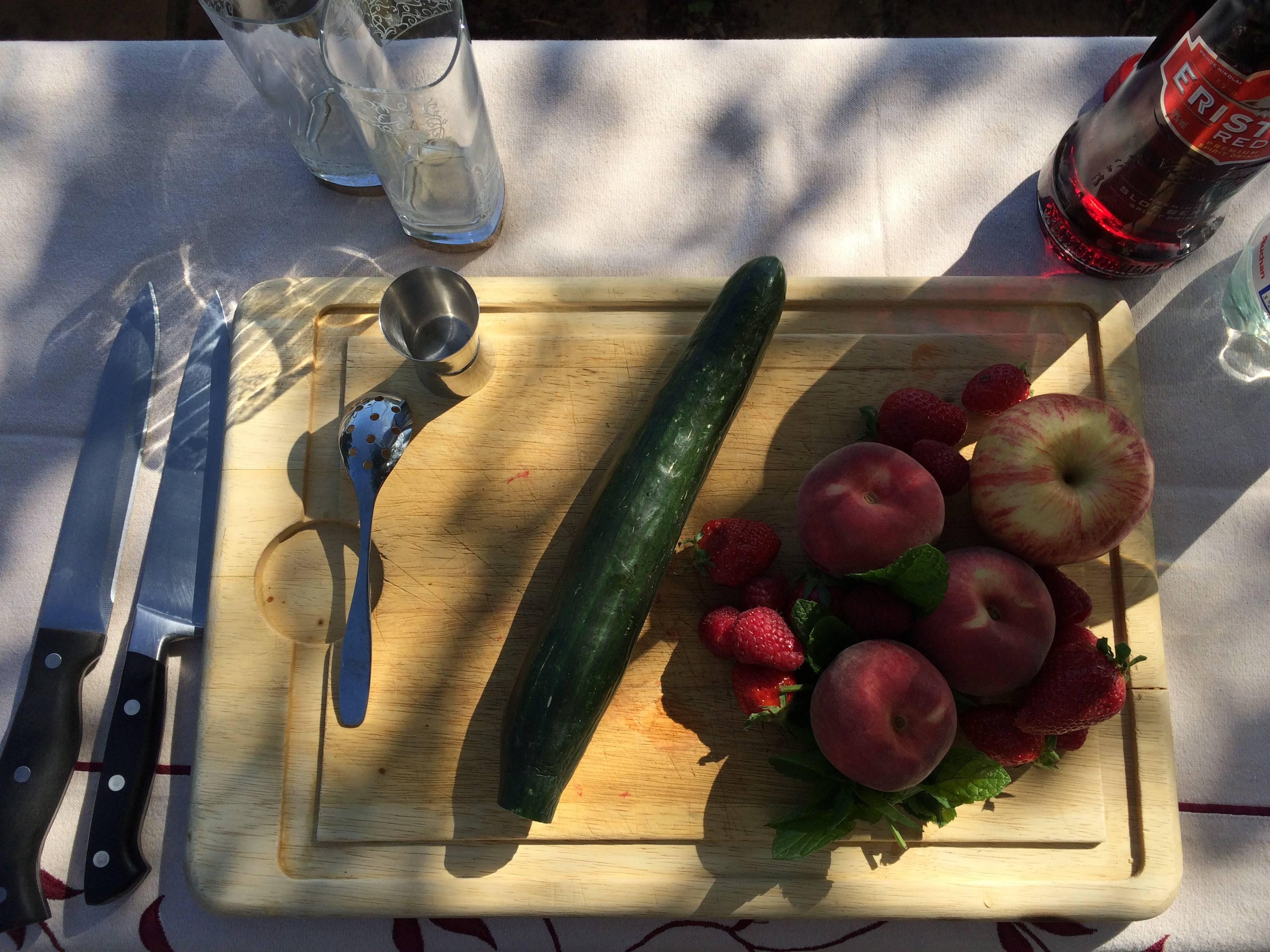 """""""5 fruits et légumes par jour? Avec plaisir..."""" - © C. Radulovich"""