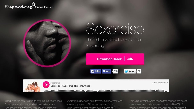 © onlinedoctor.superdrug.com/sexercise/