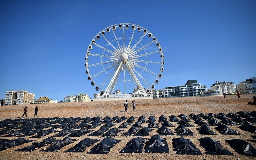 Une campagne d'Amnesty International à Brighton en Angleterre - © Flickr