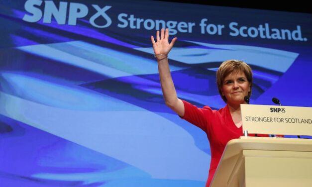 Nicola Sturgeon, la reine au-delà du mur