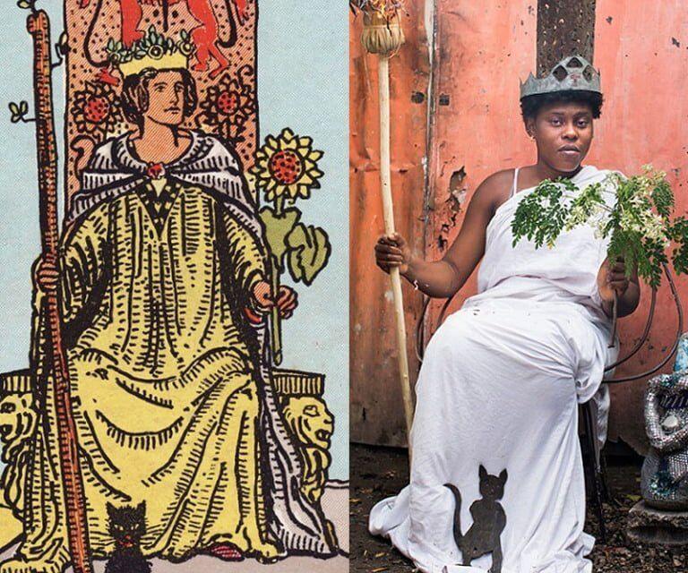 Une photographe belge fait fusionner un jeu de tarot et le ghetto Haïtien